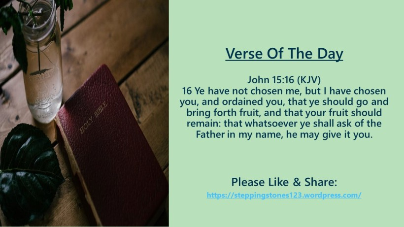 Verse Of The Day Template for My Blog 2