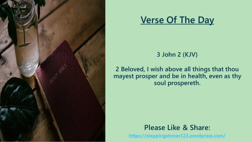 Verse Of The Day Template for My Blog john 3