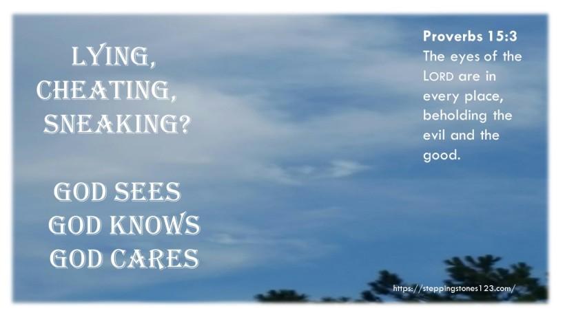 God sees 2