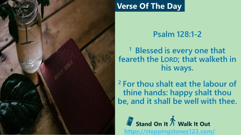 Verse Of The Day Psalm 128and1thru2