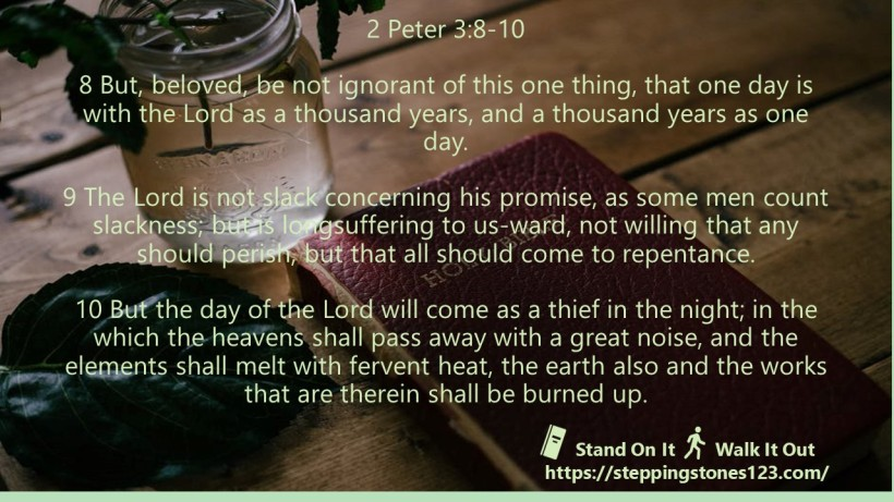 multiple verses Verse Of The Day 2 peter