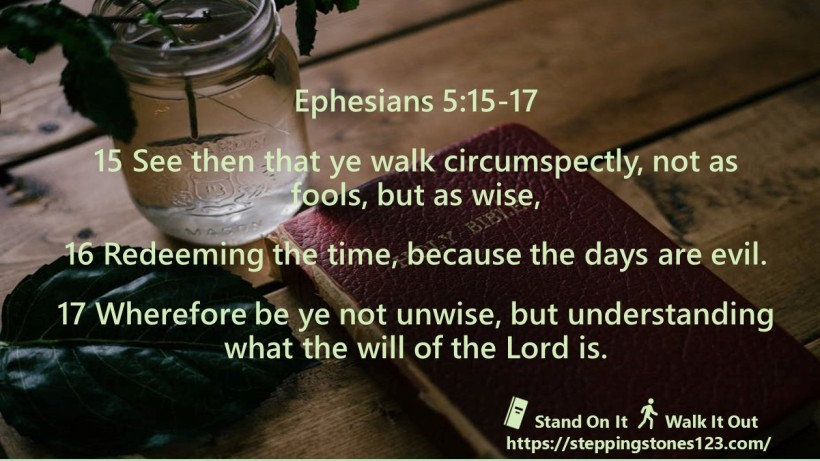 multiple verses Verse Of The Day ephesians 5 new