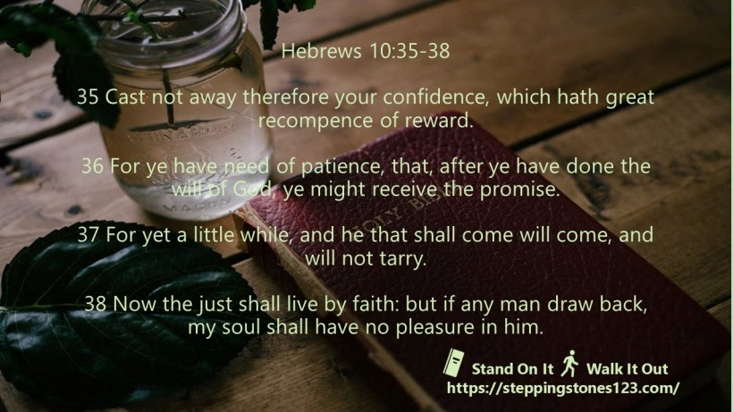 multiple verses Verse Of The Day Wide hebrews 10 35 38