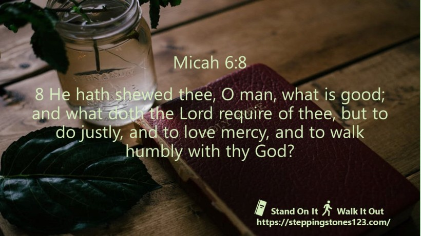 multiple verses Verse Of The Day Wide micah 6