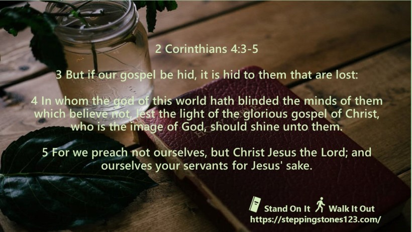 multiple verses Verse Of The Day Wide 2 corin 3and5 Nov12