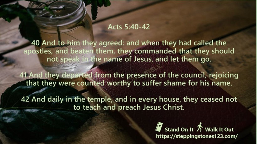 multiple verses Verse Of The Day Wide acts 5
