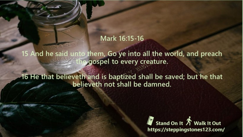 multiple verses Verse Of The Day Wide mark 16