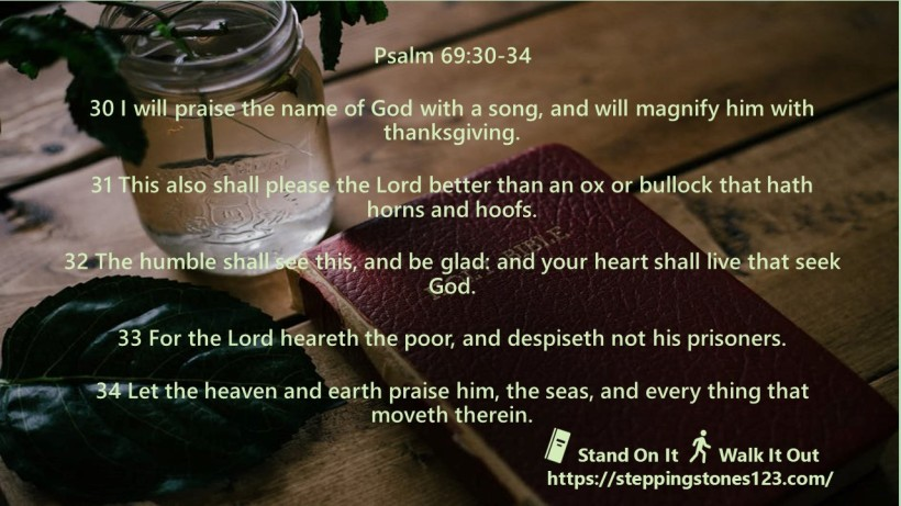 multiple verses Verse Of The Day Wide psalm 69 NOV 12