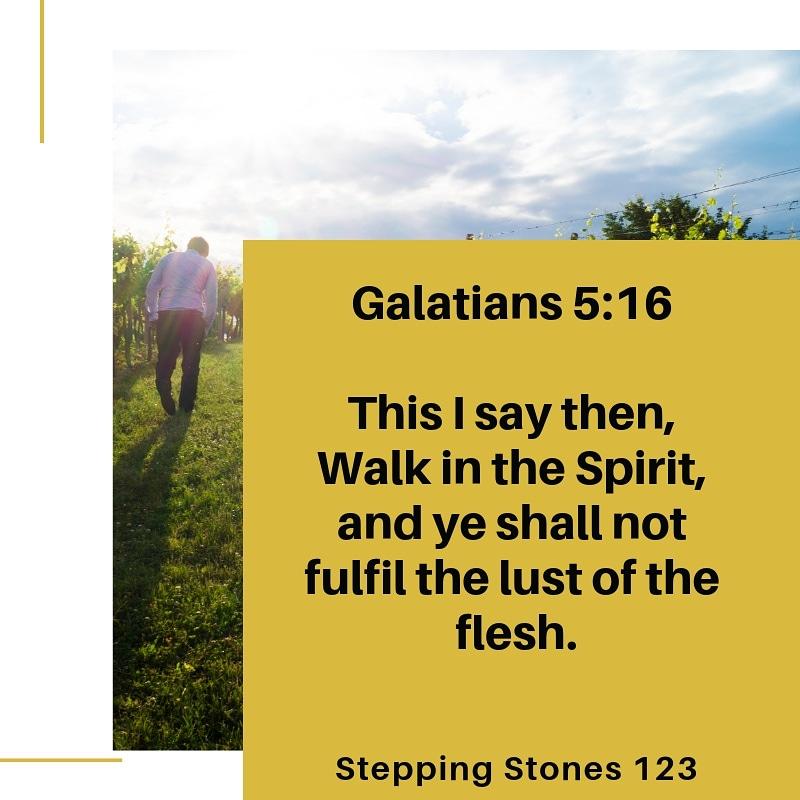 Stepping Stones 123: A Walk Of Faith